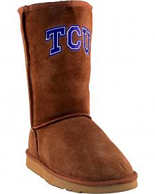 Gameday Boots Women's Texas Christian University Lambskin Boots