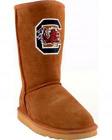 Gameday Boots Women's University of South Carolina Lambskin Boots