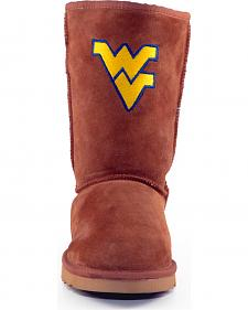 Gameday Boots Women's West Virginia University Lambskin Boots