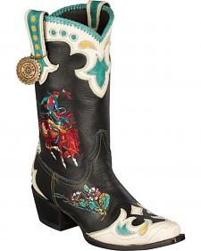 Lane for Double D Ranch Retro Rodeo Cowgirl Boots - Snip Toe