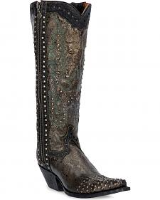 Dan Post Tempted Studded Cowgirl Boots - Snip Toe