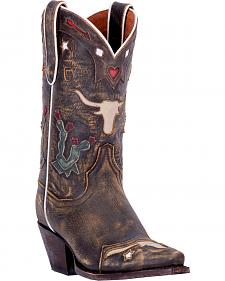 Dan Post Cowboy Dreams Cowgirl Boots - Snip Toe