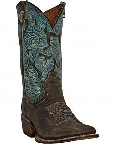 Dan Post Garden Party Cowgirl Boots - Square Toe