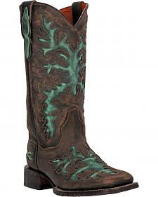 Dan Post Touche II Cowgirl Boots - Square Toe