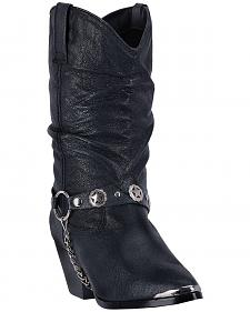 Dingo Supple Pigskin Cowgirl Boots