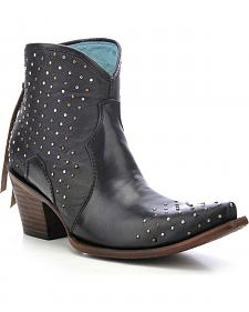 Corral Women's Studded Ankle Boots - Snip Toe