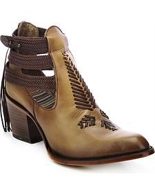 Corral Women's Braided Strap Heels