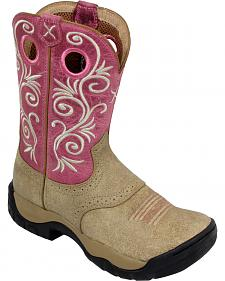 Twisted X Pink All Around Cowgirl Boots - Round Toe