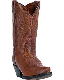 Dan Post Trinity Cognac Cowgirl Boots - Snip Toe