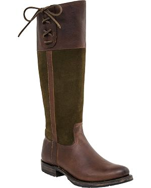 Lucchese Womens Emma Equestrian Boots - Round Toe