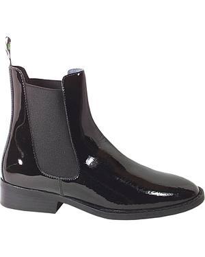 Smoky Mountain Womens Jodhpur Patent Leather Paddock Boots