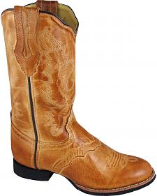 Smoky Mountain Showdown Cowgirl Boots - Round Toe