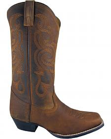 Smoky Mountain Lariat Cowgirl Boots - Square Toe