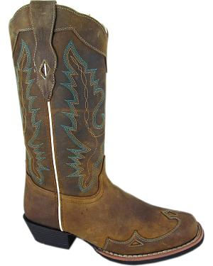 Smoky Mountain Augusta Cowgirl Boots - Square Toe