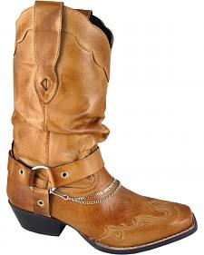 Smoky Mountain Avalon Slouch Cowgirl Boots - Square Toe