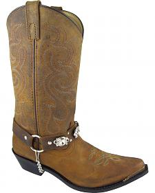 Smoky Mountain Arroyo Grande Cowgirl Boots - Snip Toe