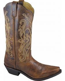 Smoky Mountain Madison Cowgirl Boots - Snip Toe