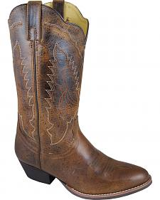 Smoky Mountain Amelia Cowgirl Boots - Round Toe