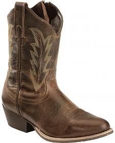 Smoky Mountain Amanda Cowgirl Boots - Round Toe