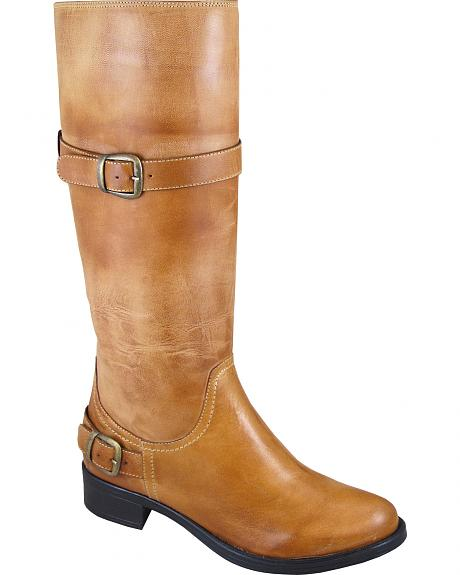 Smoky Mountain Donna Tall Riding Boots - Round Toe