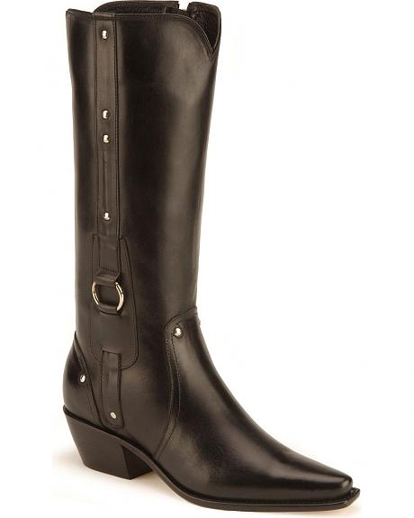 Charlie 1 Horse Harness Side Zip Boots