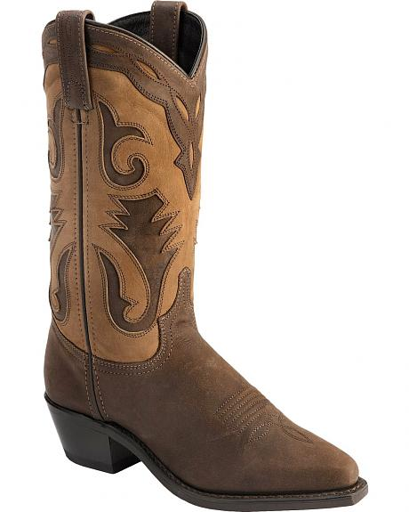Sage by Abilene Inlay Cowgirl Boots