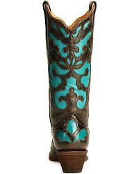 Corral Turquoise Inlay Western Boots at Sheplers