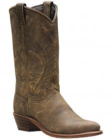 Abilene Bomber Leather Cowgirl Boots