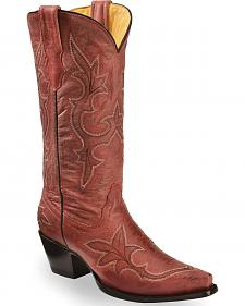 Corral Women's Vintage Leather Western Boots - Snip Toe