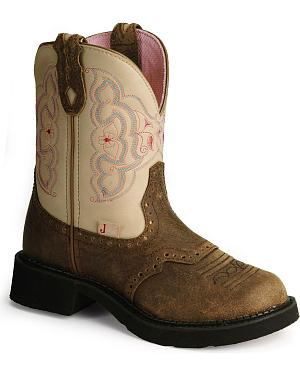 Justin Gypsy Distressed Western Boots