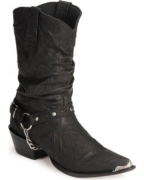 Durango Crush Slouch Harness Boots