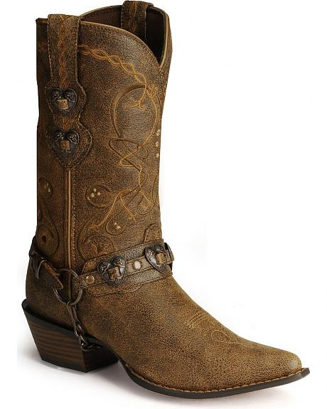 Durango Crush Heart Harness Boots