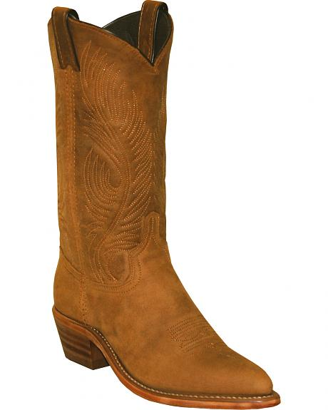 Abilene Women's Distressed Cowhide Cowgirl Boots - Pointed Toe