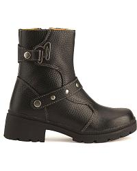 Milwaukee Delusion Harness Zipper Motorcycle Boots at Sheplers