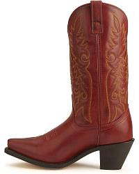 Laredo High Heel Red Cowgirl Boots at Sheplers