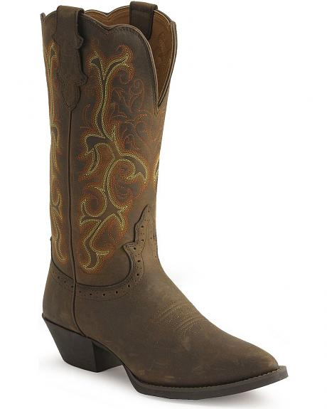 Justin Stampede Western Cowgirl Boots