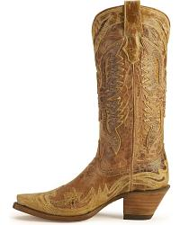 Corral Vintage Eagle Wingtip Boots at Sheplers