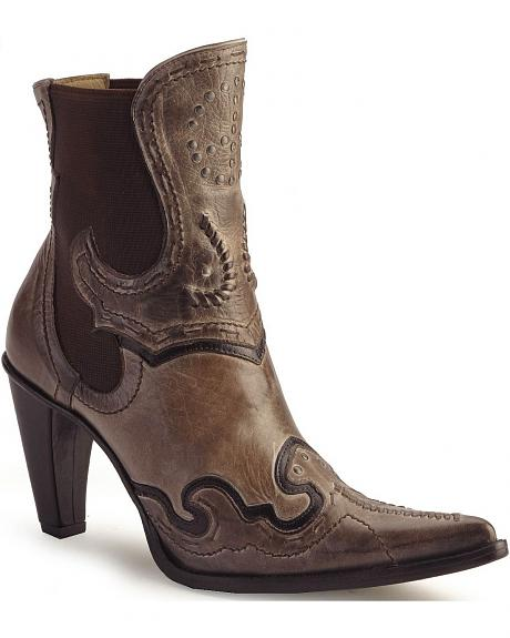 Charlie 1 Horse  by Lucchese demi wingtip boots