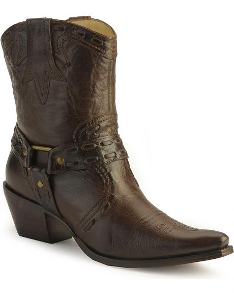 Charlie 1 Horse by Lucchese harness demi boots