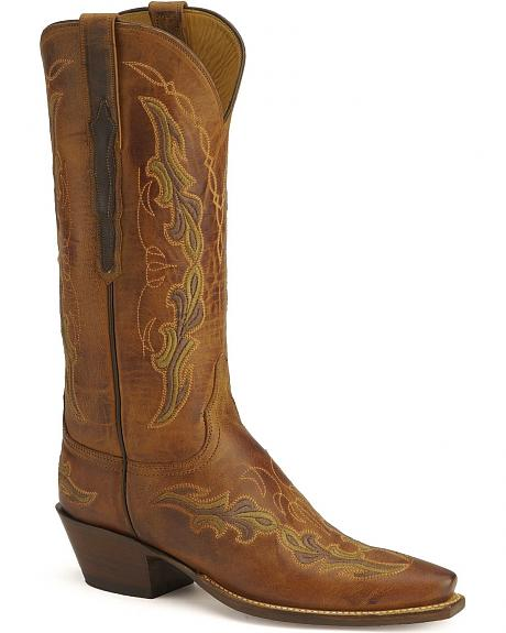 Lucchese Boots - Handcrafted Classics burnished goatskin boots