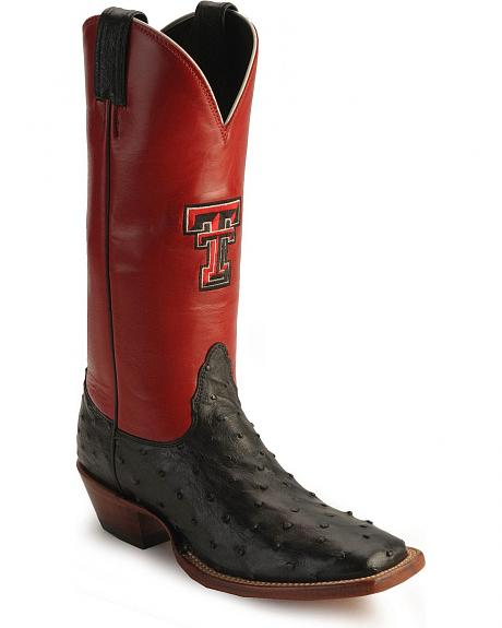 Nocona Women's Texas Tech University College Boots - Square Toe