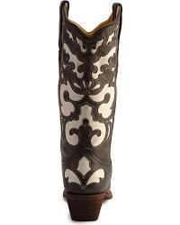 Corral White Leather Inlay Cowgirl Boots at Sheplers