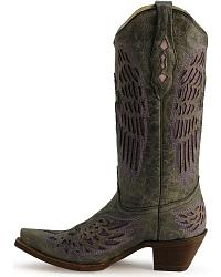 Corral Angel Wing Cross Cowgirl Boots at Sheplers
