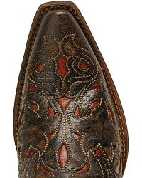 Corral Laser Red Inlay Cowgirl Boots at Sheplers
