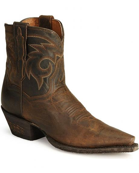 Dan Post Dirty Bull Ankle Boots
