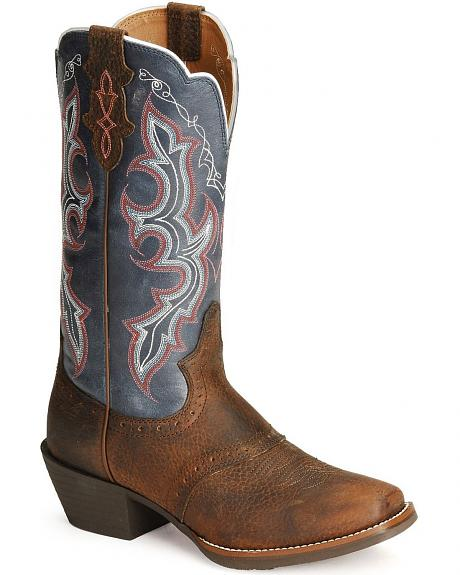 Justin Stampede Punchy Cowgirl Boots