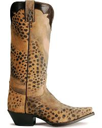 Nocona Leopard Print Cowgirl Boots at Sheplers