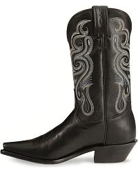 Tony Lama Stallion Leather Americana Cowgirl Boots at Sheplers
