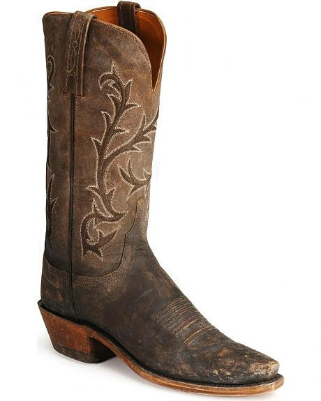 Lucchese Boots - Handcrafted 1883 Stonewashed Mad Dog Western Boots