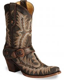 Corral Vintage Short Harness Boots